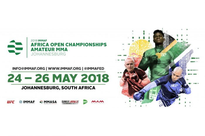 IMMAF Africa open championships headed to SA.