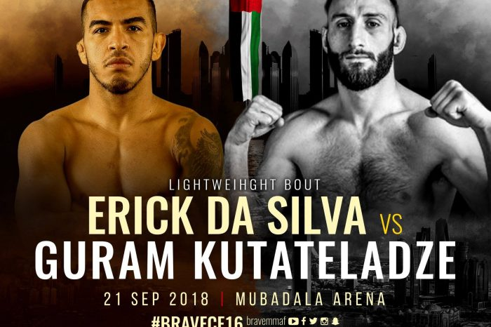 Erick da Silva to face Guram Kutateladze at Brave 16