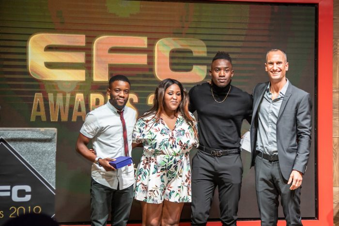 All the winners of the Inaugural EFC awards