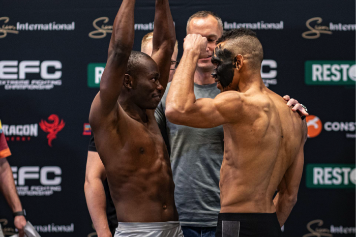 Official EFC81 weigh in results