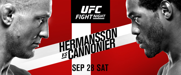 UFC FIGHT NIGHT®: HERMANSSON vs. CANNONIER Everything you need to know