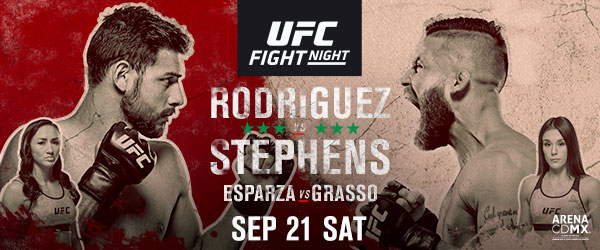 El Pantera vs Lil Heathen do battle on Mexico City for UFC Fight Night