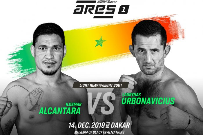 ARES Inaugral event to be broadcast on UFC fightpass