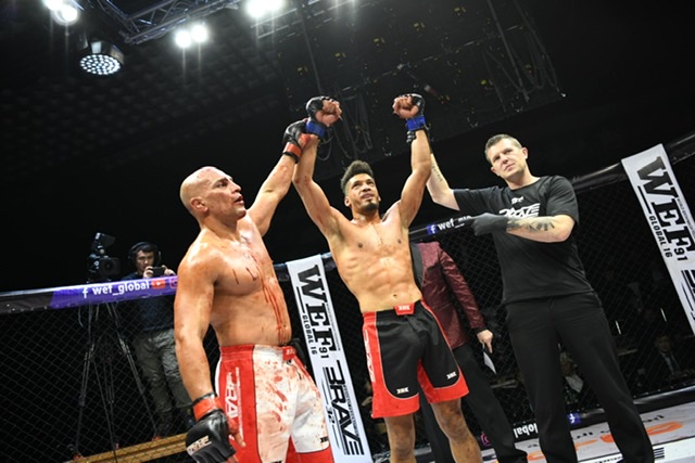 Brave 32 results - Booth Dominates
