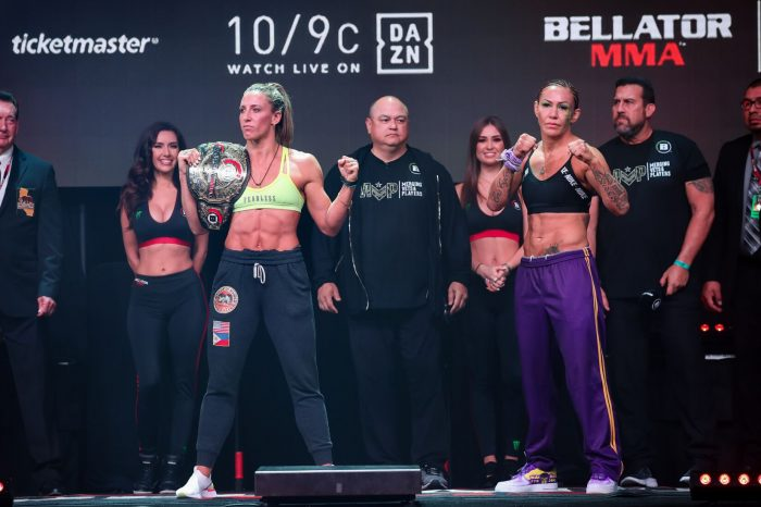 Official weigh in results Bellator 238