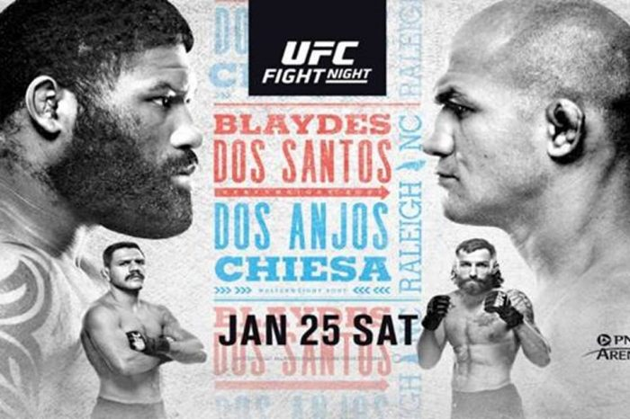 Blaydes VS Dos Santos - Everything you need to know