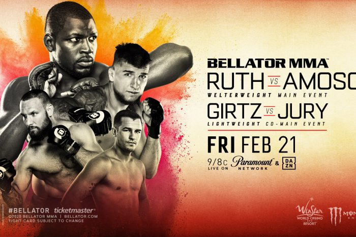 FULL FIGHT CARD AND BROADCAST DETAILS FOR BELLATOR 239: RUTH VS. AMOSOV THIS FRIDAY, FEB. 21