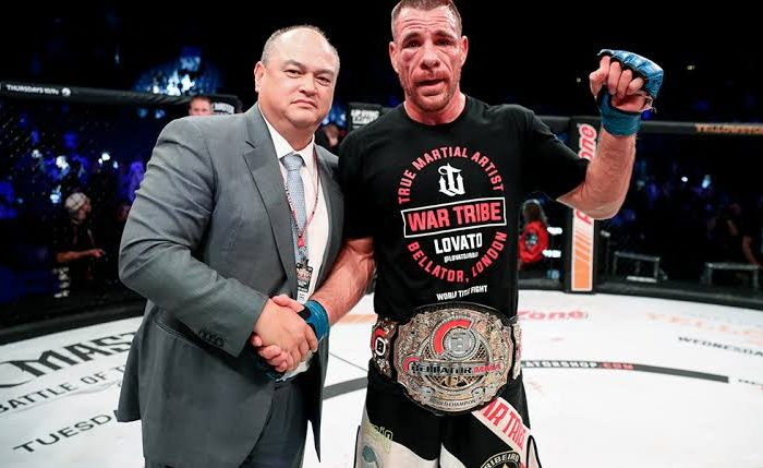 Lovato Jr Relinquishes Bellator title due to ongoing medical complications