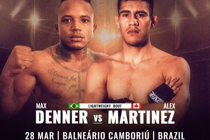 Alex Martinez returns against fellow undefeated Max Denner at BRAVE CF 35