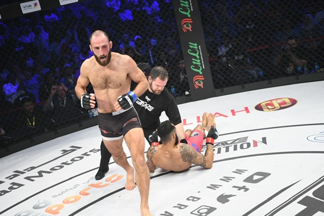 Guram relishing bout against home country hero at BRAVE CF 35: 'I deserve this'