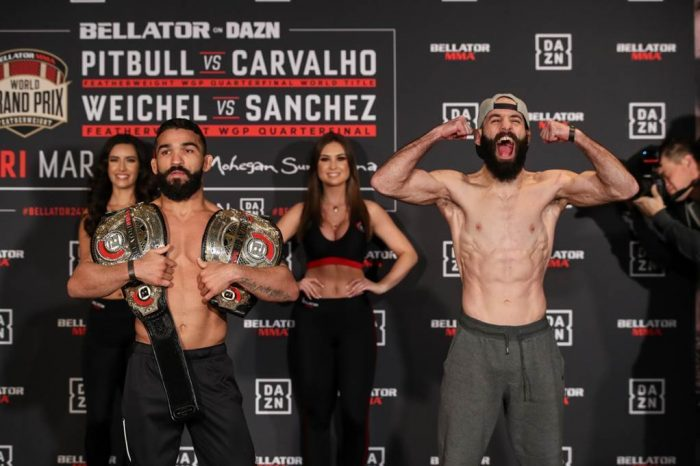 Bellator 241 weigh in results