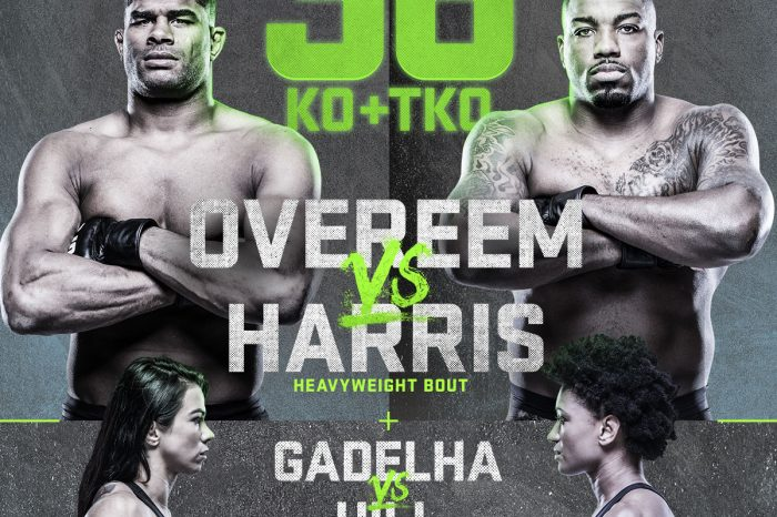 Overeem Vs Harris - what you need to know