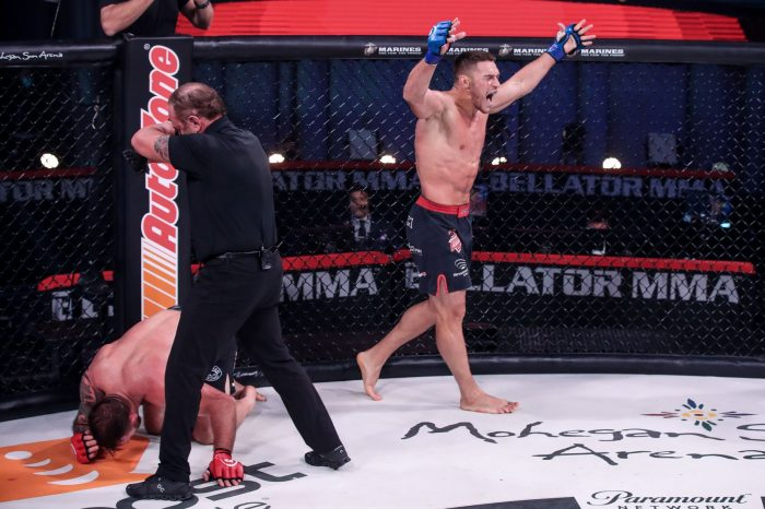 Official Bellator 244 results