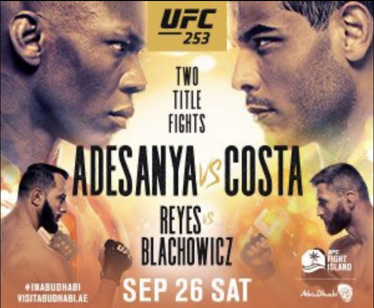 Adesanya vs Costa - what you need to know