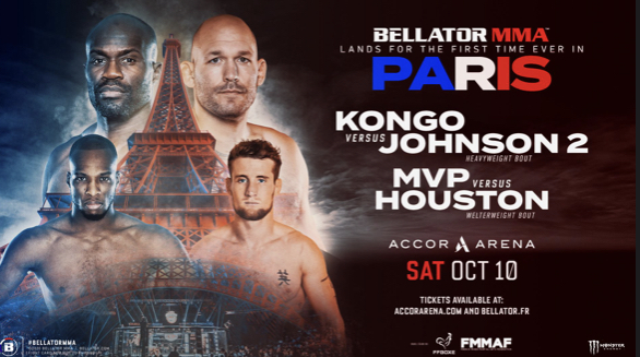 Bellator to host first Major MMA event in Paris