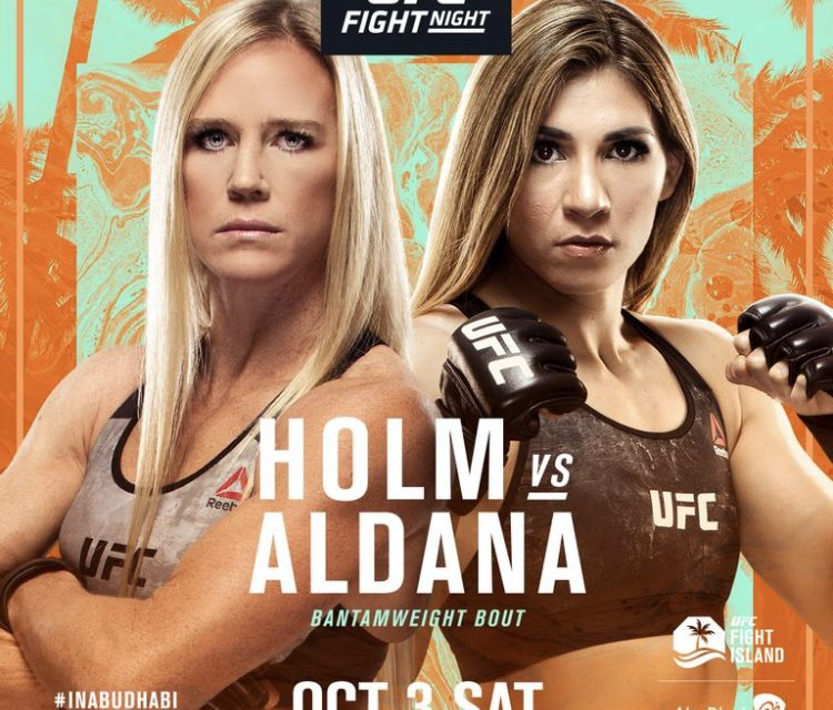 Holm VS Aldana - what you need to know
