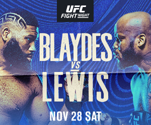 Blaydes vs Lewis what you need to know