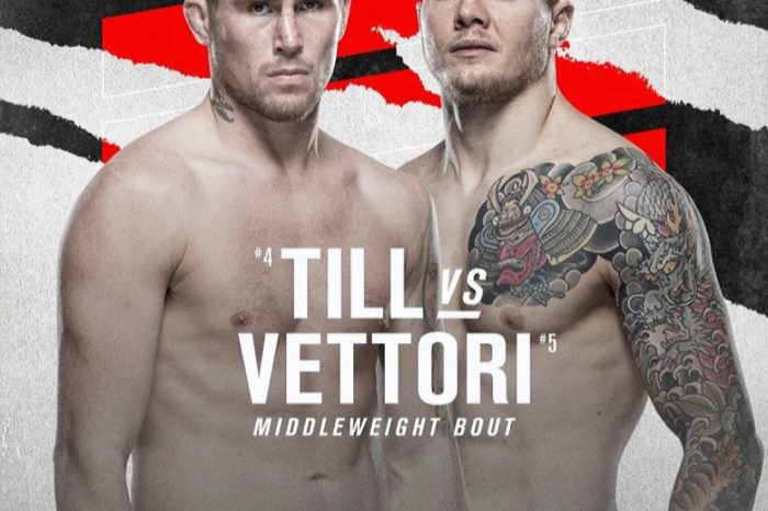 Till vs Vettori official in Middleweight clash