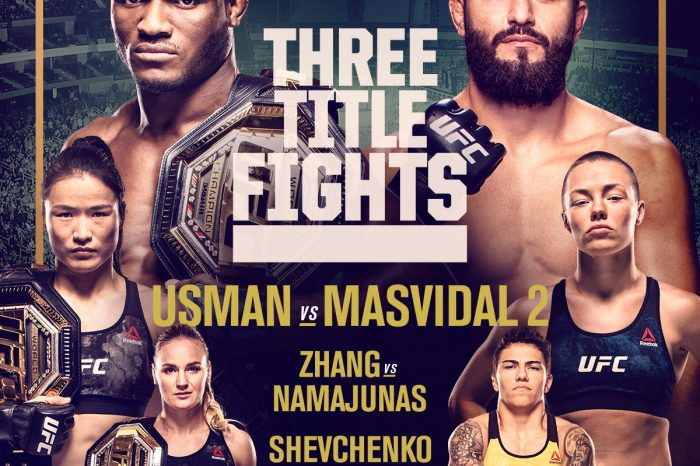 Usman vs Masvidal - what you need to know