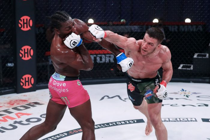 Official Bellator 257 results