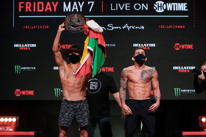 Official Bellator 258 weigh in results
