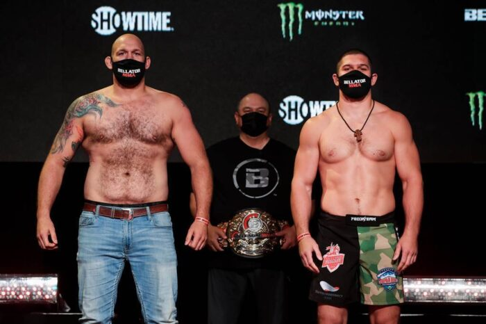 Official Bellator 261 Weigh in results