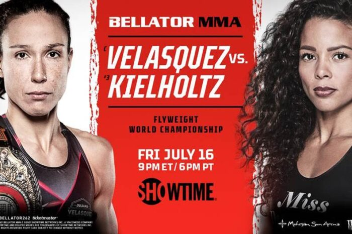Official card for Bellator 262 released