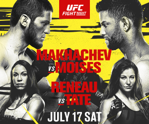 Makhachev vs Moises - what you need to know